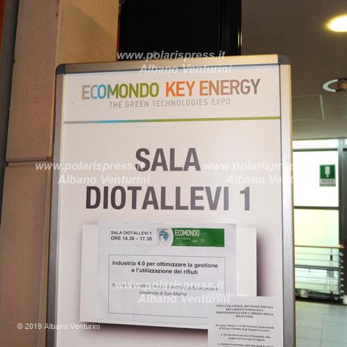 Ecomondo sala Diotallevi